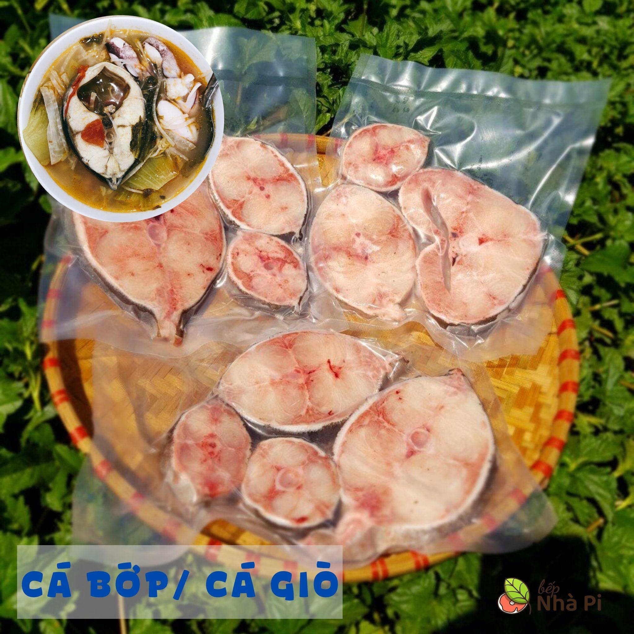 cá bớp cắt khúc tươi ngon | bếp nhà pi | bepnhapi.com