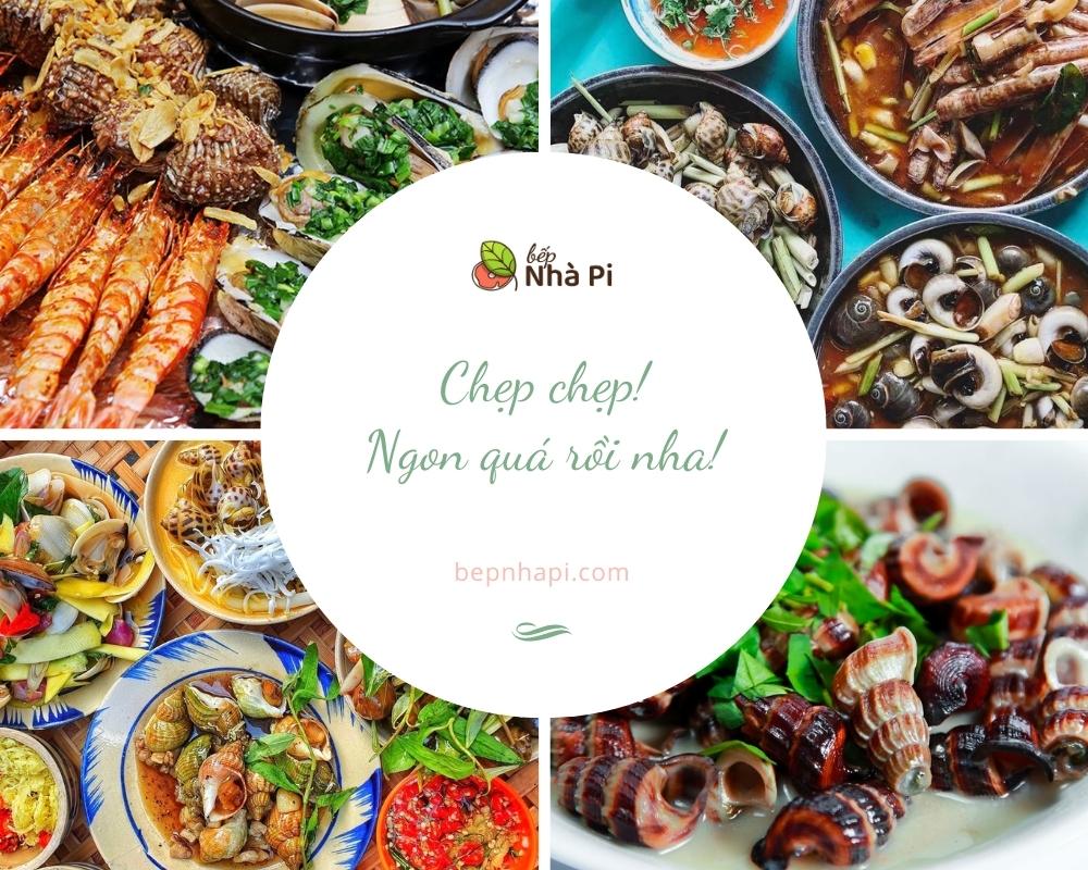 10 quán hải sản ngon bổ rẻ ở hà nội | bếp nhà pi | bepnhapi.com