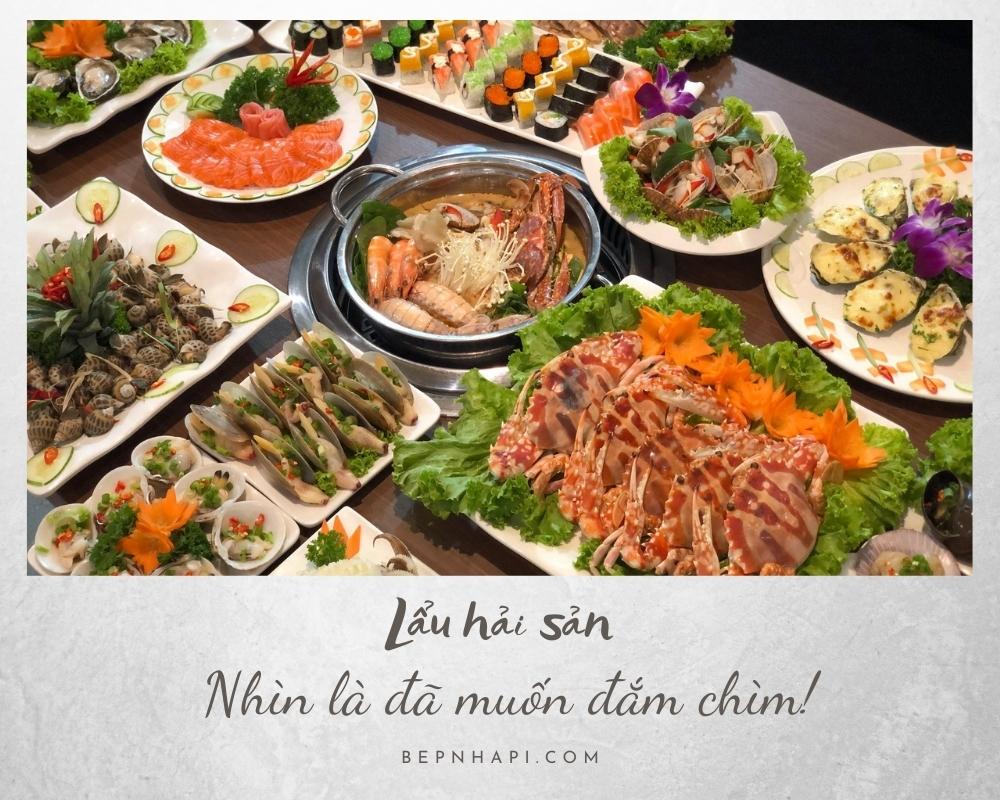 lẩu hải sản | bếp nhà pi | bepnhapi.com