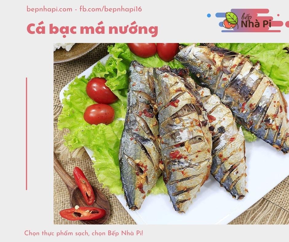 Cá bạc má nướng | bếp nhà pi | bepnhapi.com