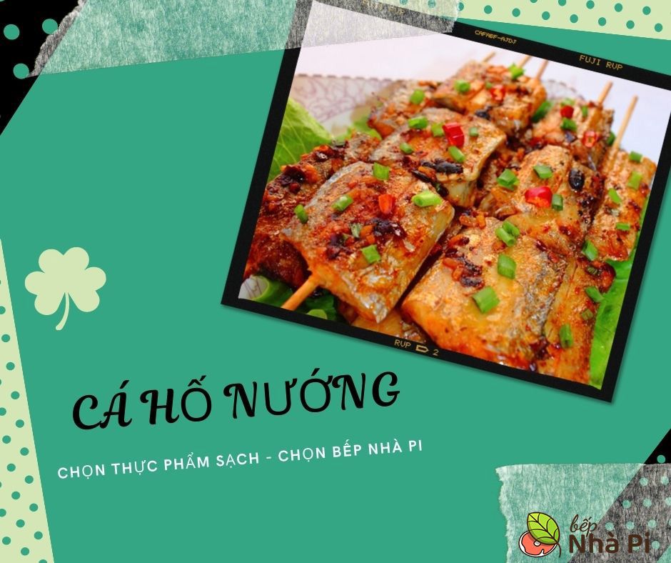 Cá hố nướng   Bếp Nhà Pi   bepnhapi.com