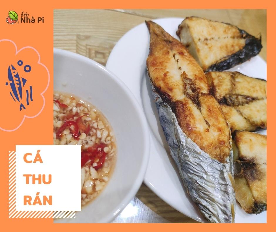 Cá thu rán   bếp nhà pi   bepnhapi.com