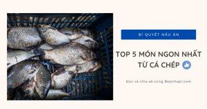 Cá chép nấu món gì ngon nhất? 5 món ngon từ cá chép
